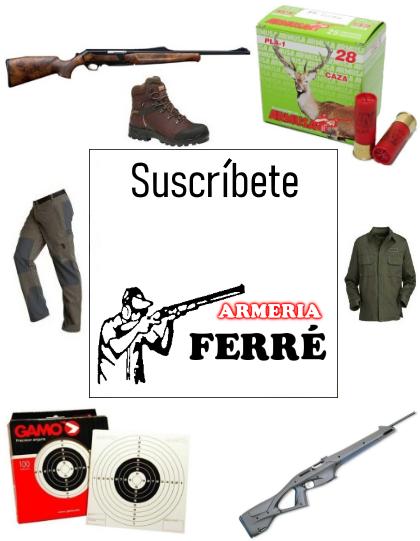 Ofertas-newsletters Armeria Ferre